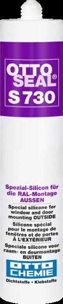 OTTOSEAL® S 730 Das Spezial-Silikon für die RAL-Montage AUSSEN