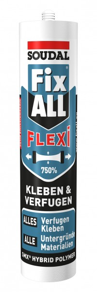 Soudal Fix All Flexi (Classic) 470 g - Hybrid Kleb-Dichtstoff