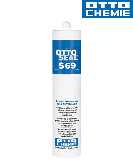 Bild OTTOSEAL® S 69 Acetat-Reinraum- und RLT-Silikon Kartusche 310 ml