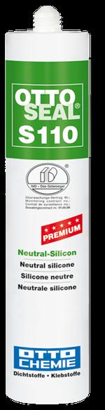 Bild OTTOSEAL® S 110 Premium-Neutralsilikon Kartusche 310 ml