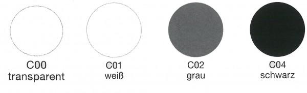 Achtung! Abhängig von Ihren Monitoreinstellungen können die angezeigten Farben von den Originalfarben abweichen.