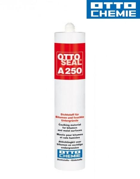 Bild OTTOSEAL® A 250 - Der Dichtstoff für Bitumen und feuchte Untergründe Kartusche 310 ml