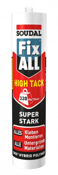 Soudal Fix ALL® High Tack 420 g - Der Hochleistungs-Montagekleber