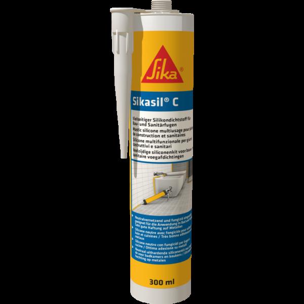 Sikasil® C - Neutralvernetzender Silicondichtstoff