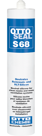 OTTOSEAL® S 68 - Das neutrale Reinraum- und RLT-Silikon
