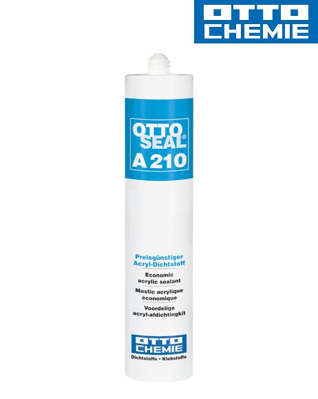 Bild OTTOSEAL® A 210 - Der preisgünstige Acryl-Dichtstoff Kartusche 310 ml