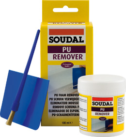 soudal pu remover entferner f r ausgeh rteten pu schaum. Black Bedroom Furniture Sets. Home Design Ideas