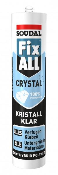 Soudal Fix All Flexi Crystal 300 g - Kristallklarer Kleb-Dichtstoff