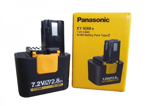 Panasonic Ni-MH- Akku EY9268 B - 7,2 V / 2,8 Ah - für Panasonic EY3654 NQW