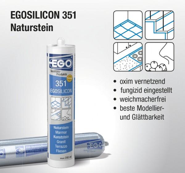 Bild EGOSILICON 351 Natursteinsilikon Kartusche 310 ml