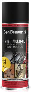 Bild Den Braven 6 in 1 Multi-Öl Sprühdose 400 ml