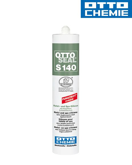 Bild OTTOSEAL® S 140 Sanitärsilikon Fungitect Kartusche 310 ml